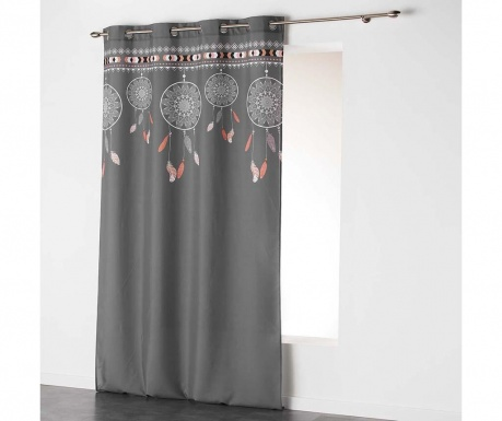 Zastor Indila Top Anthracite & Nature 140x260 cm