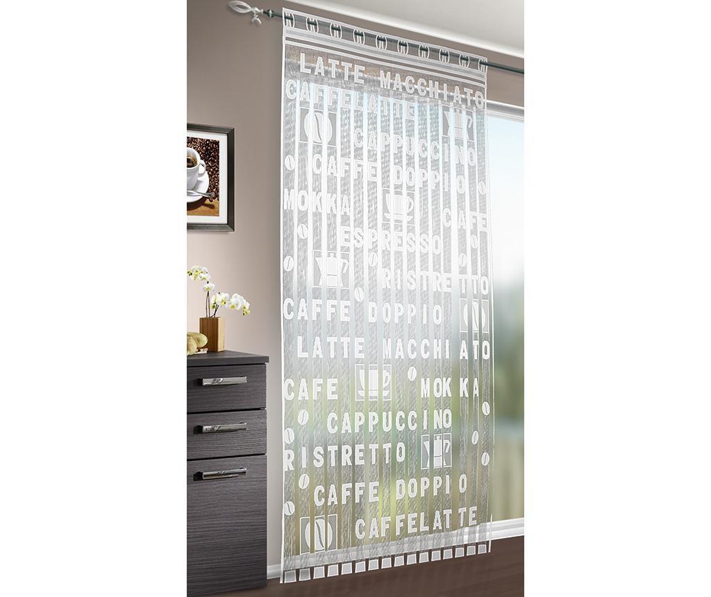 Mokka Spagetti függöny 95x220 cm