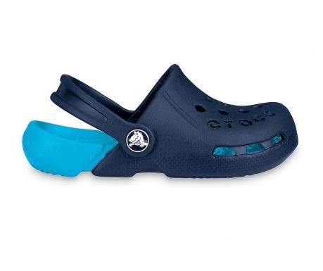 Saboti copii Crocs Electro Blue 34-35