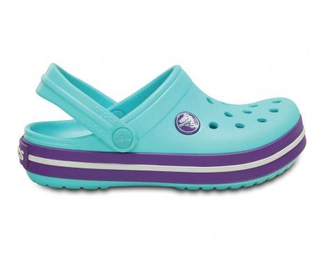 Otroške cokle Crocs Neon Purple 32-33