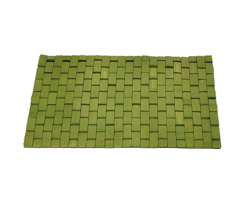 Podloga za tuš kabino Slippery Green 45x45 cm