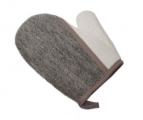 Koupelová exfoliační rukavice Ramie Taupe