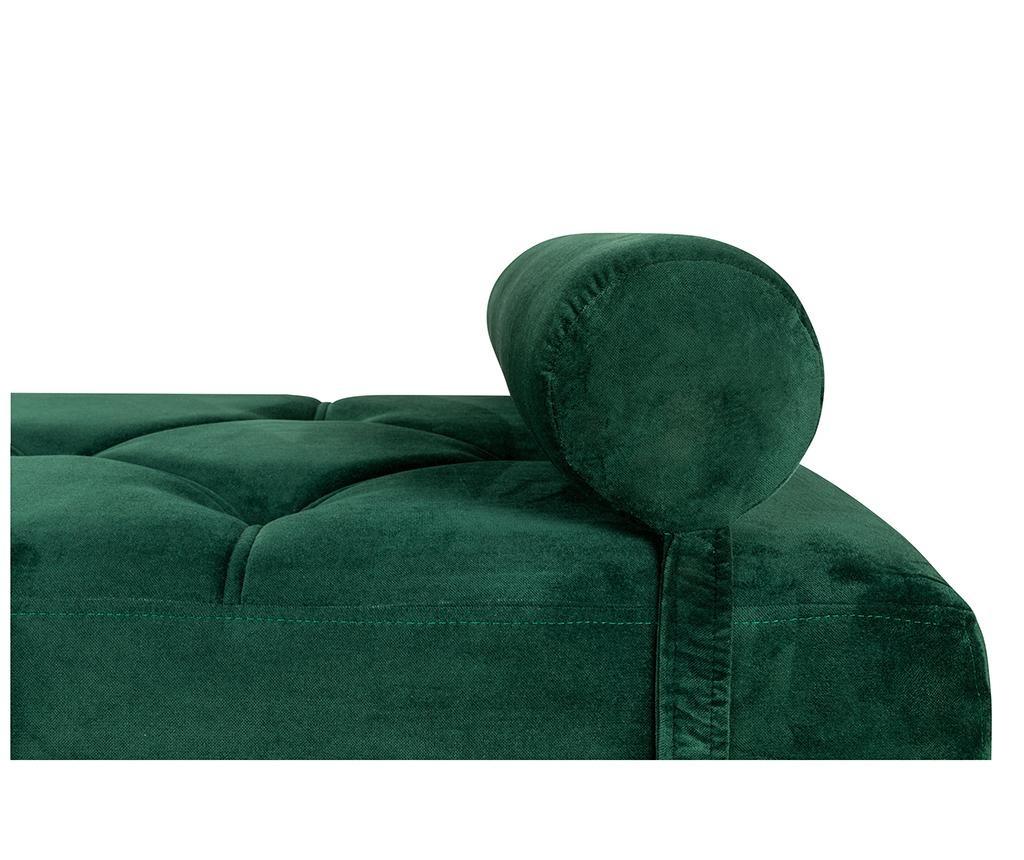 diYana Dark Green And Black Legs Nappali heverő