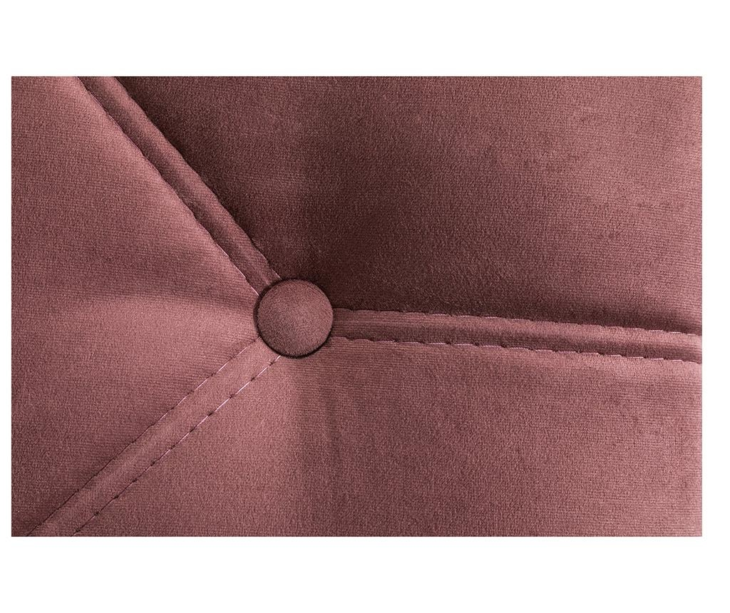 diYana Rust Pink Jobboldali nappali heverő