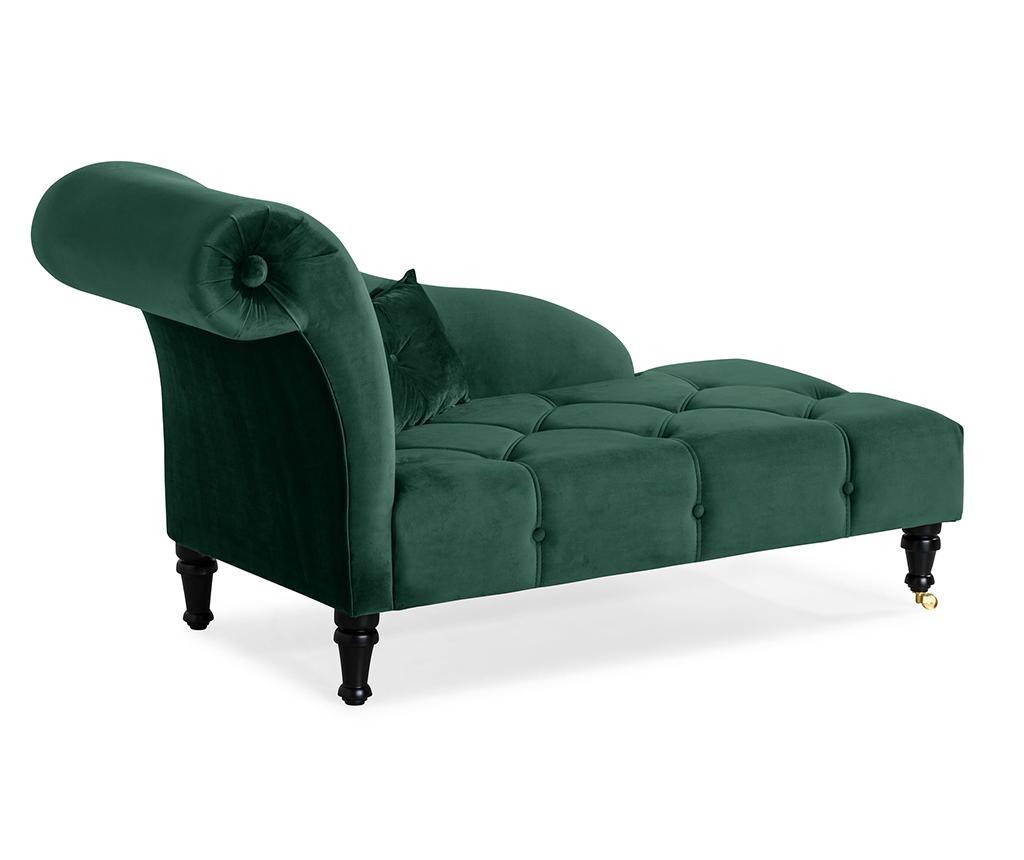 Desni počivalnik za dnevno sobo diYana Dark Green