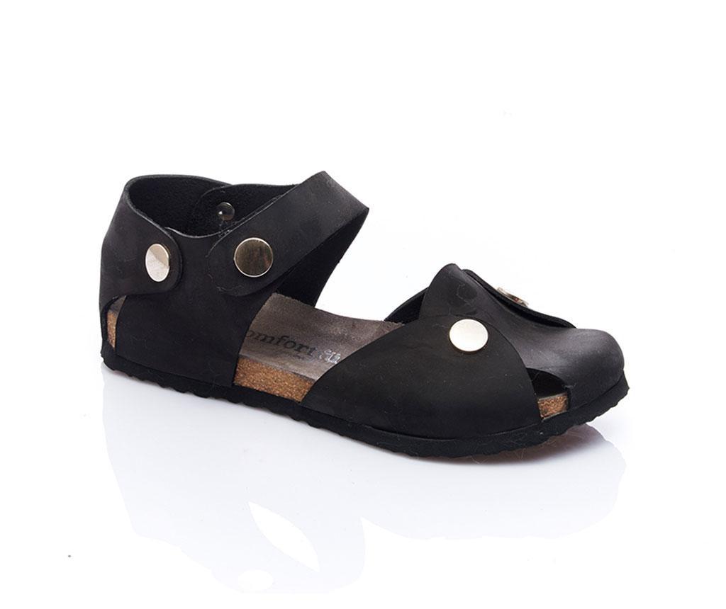 Ženski udobni sandali Arabel Black 37