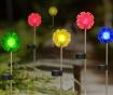 Set 4 solarne svjetiljke Flower