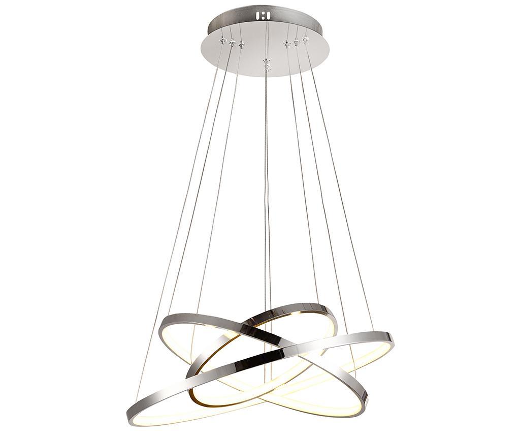 Lustra Lune Grand - Candellux Lighting, Gri & Argintiu