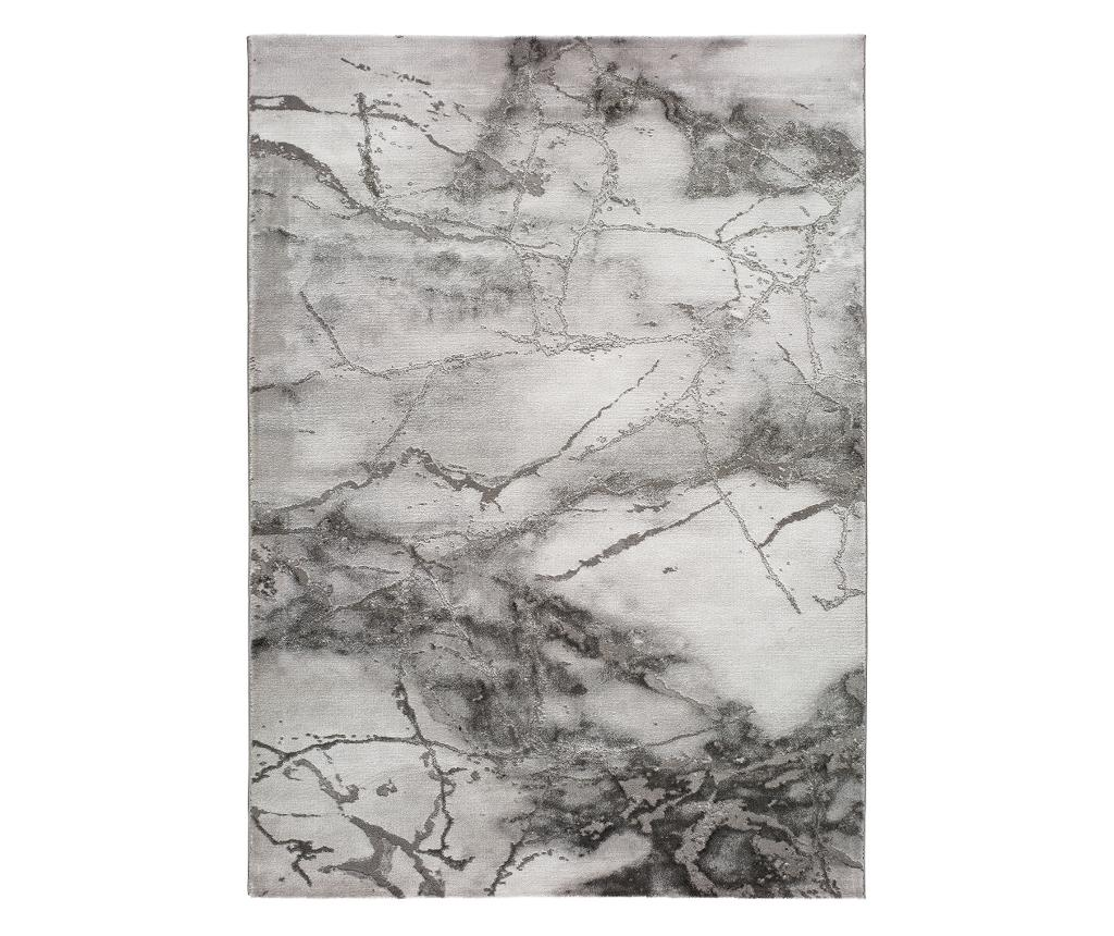 Covor Artist Marble 140x200 Cm - Universal Xxi, Gri & Argintiu