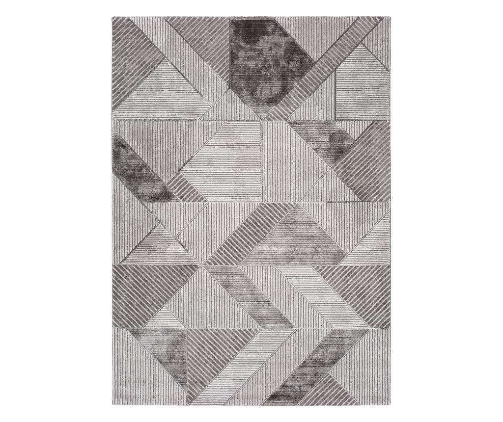 Covor Artist 160x230 cm - Universal XXI, Gri & Argintiu