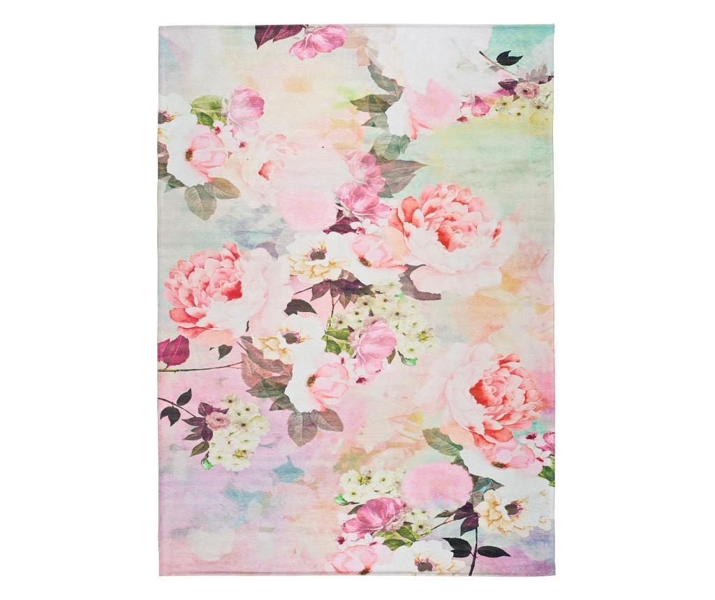 Covor Chenille Flowers 140x200 Cm - Universal Xxi, Multicolor