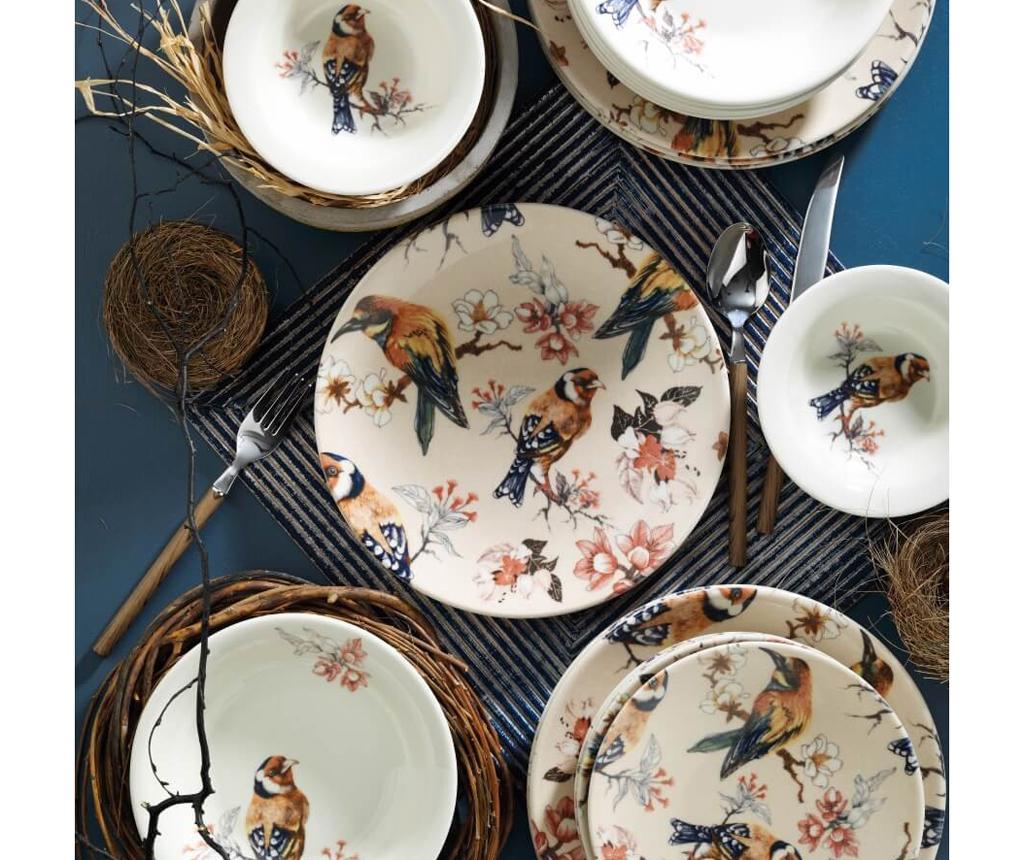 Kutahya Porselen Set Masa Dinner Pearl Multicolor