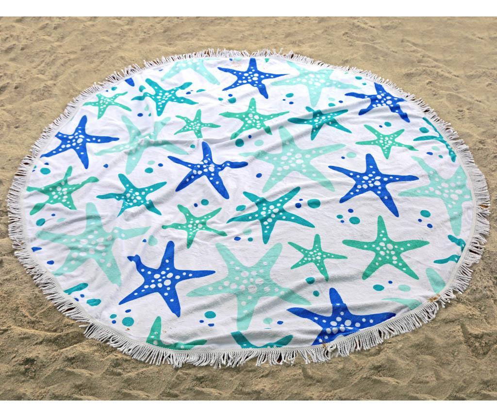 Prosop de plaja Simi 150 cm - Irya, Alb