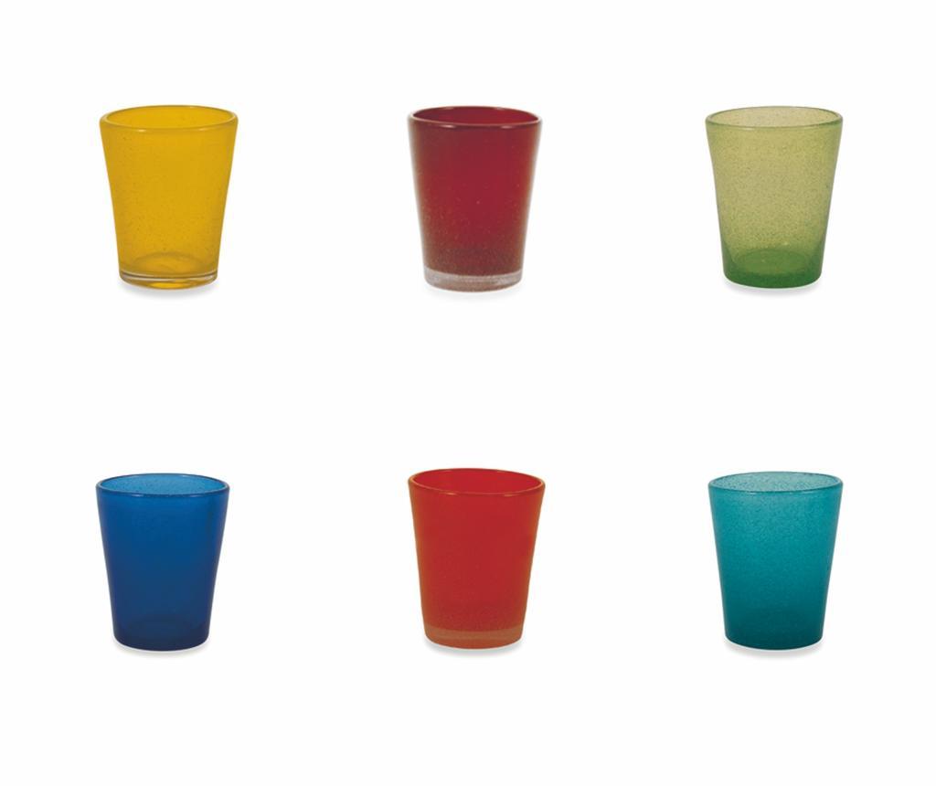 Set 6 pahare pentru apa Cancun Mexico 330 ml - Villa D'Este Home Tivoli, Multicolor