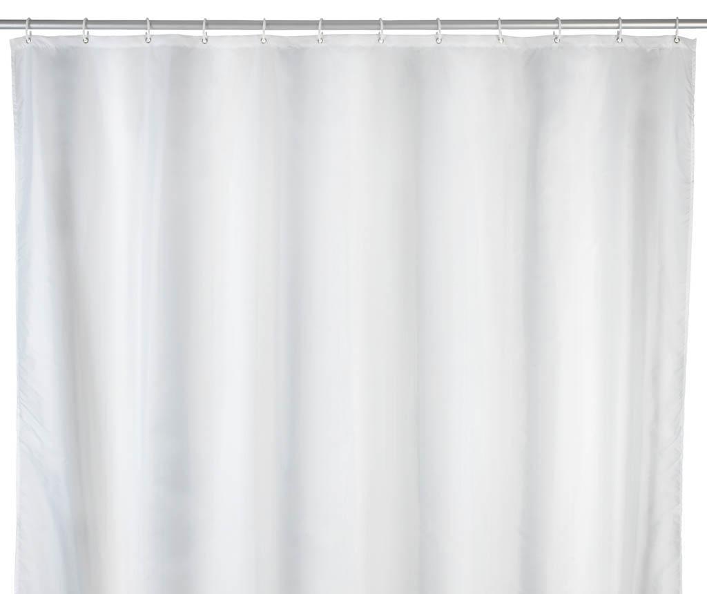 Perdea de dus Carry White 180x240 cm - Wenko, Alb