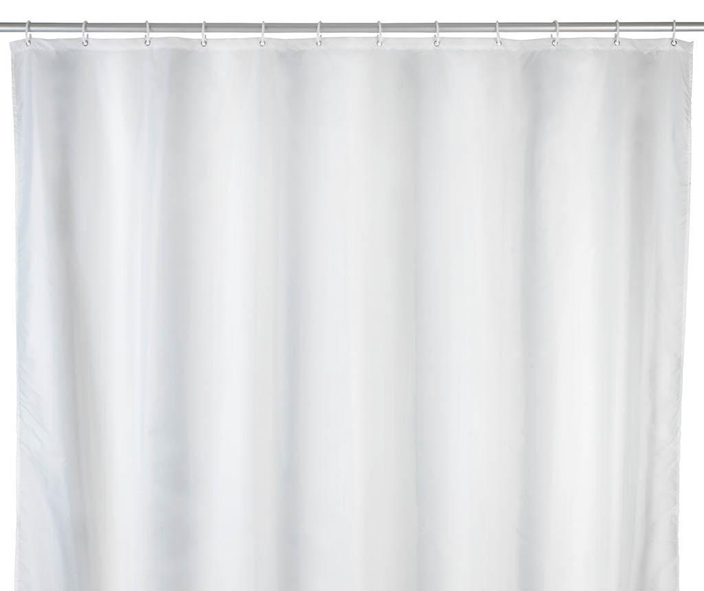 Perdea de dus Barry White 180x240 cm - Wenko, Alb