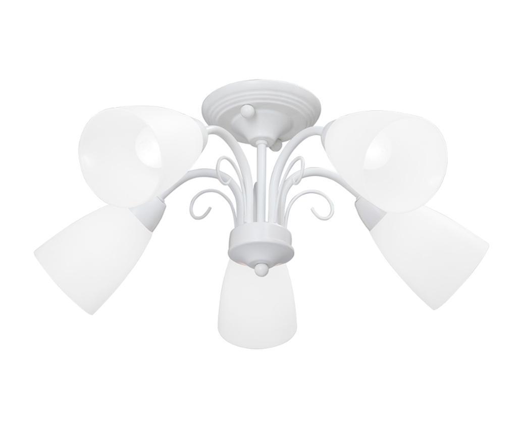 Lustra Geraldine Five White - Vitaluce, Multicolor