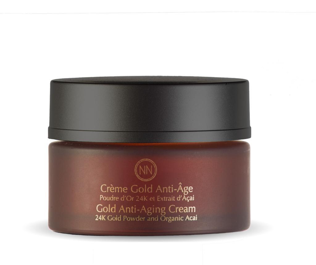 Crema anti-imbatranire pentru fata Gold Powder 50 ml
