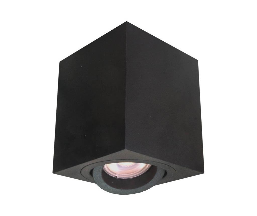 Spot Lyon Square Black - Light Prestige, Negru