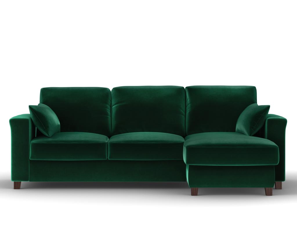Coltar Reversibil Si Extensibil Relax Bottle Green - Kooko Home, Verde