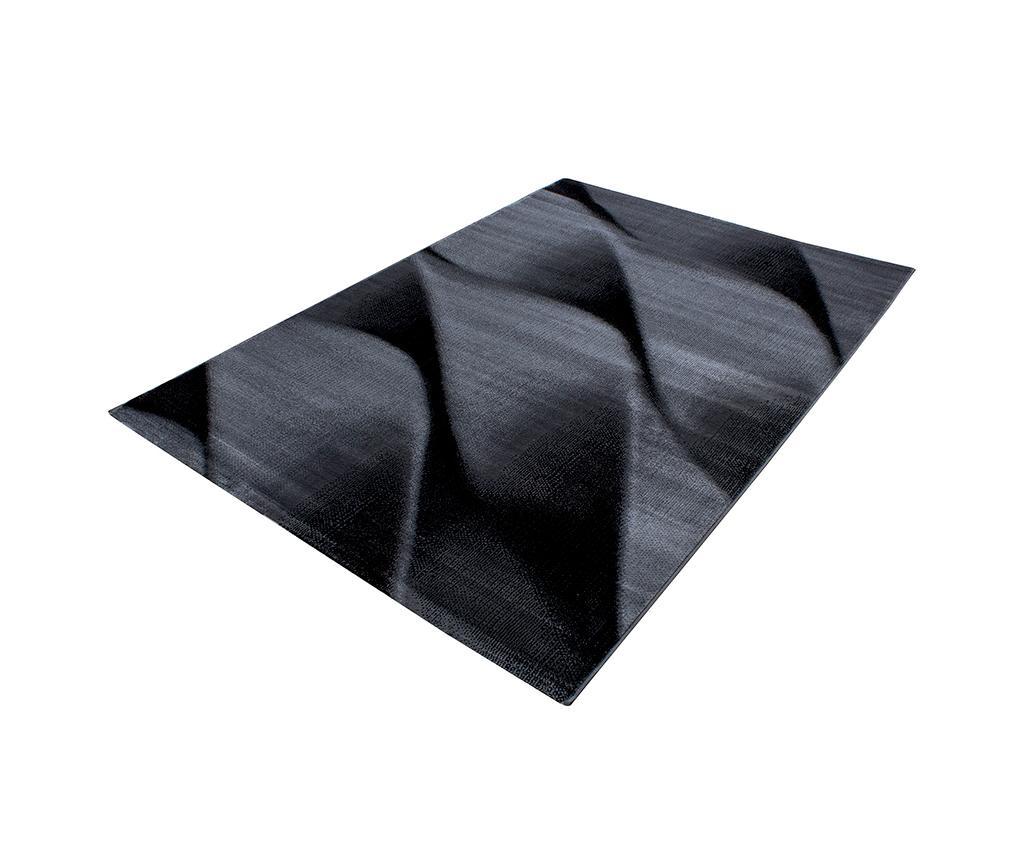 Covor Parma Black 200x290 cm - Ayyildiz Carpet, Negru