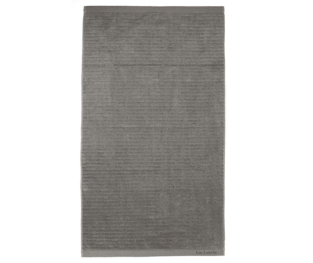 Prosop de baie Palace Grey 100x150 cm - Guy Laroche Home, Gri & Argintiu
