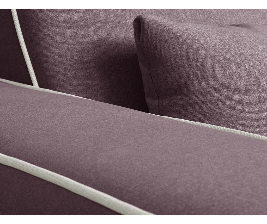 Katherine Plum Grey Kétszemélyes kanapé