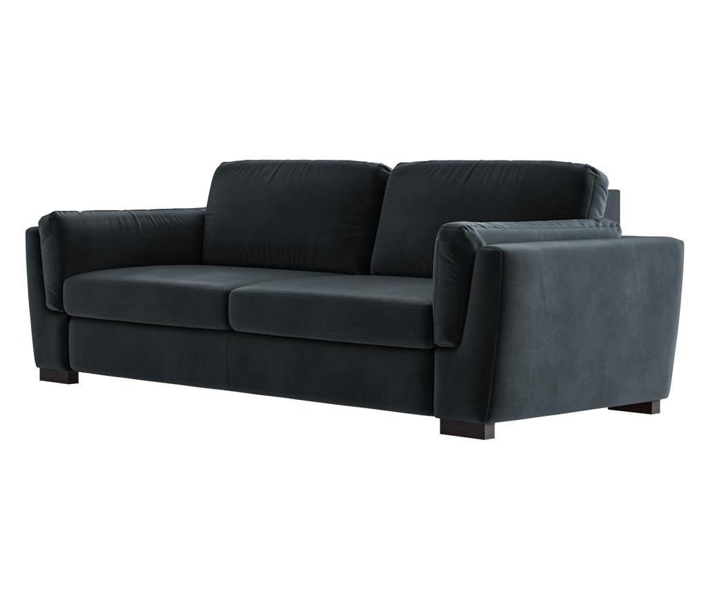 Bree Anthracite Háromszemélyes kanapé