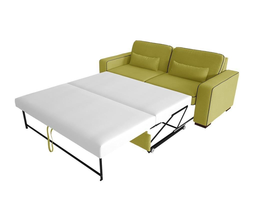 Katherine Anise Anthracite Kétszemélyes kihúzható  kanapé