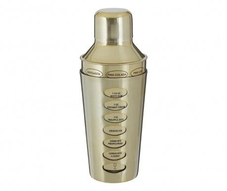 Mešalec za koktajle Recipe Brushed Gold 500 ml