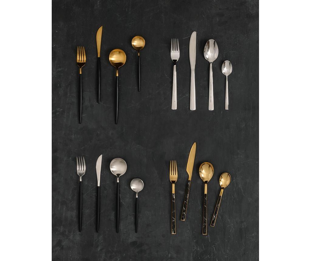 Avie Marble Gold 16 darabos Evőeszköz készlet