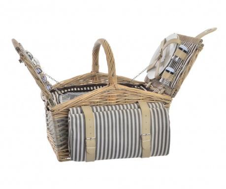 Оборудвана кошница за пикник за двама Nora