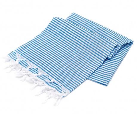 Plážová osuška Fouta Sarayl Blue 100x180 cm