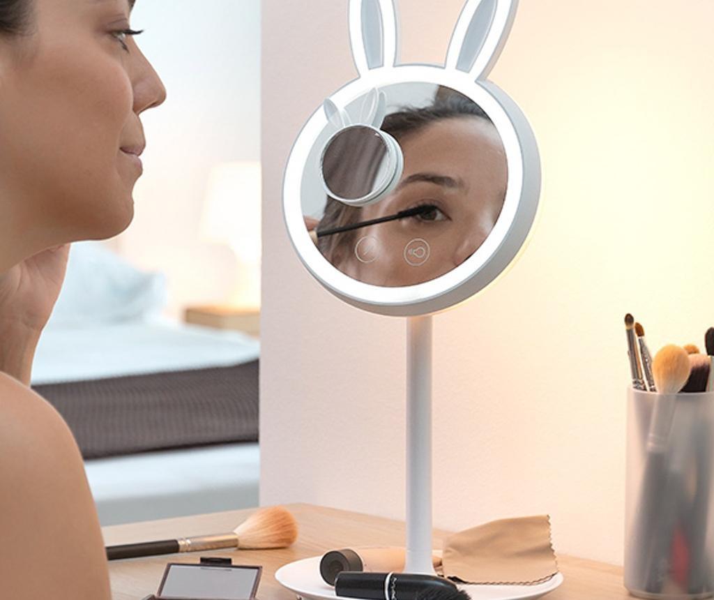 Kozmetičko zrcalo 2u1 s LED svjetlom Mirrobbit