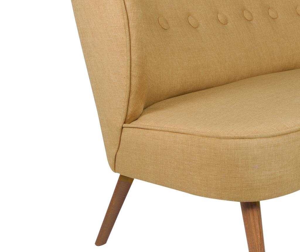 Josephine Light Brown Kétszemélyes kanapé