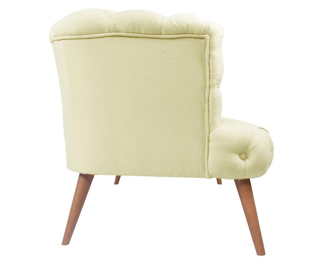 Beatrice Cream Kétszemélyes kanapé