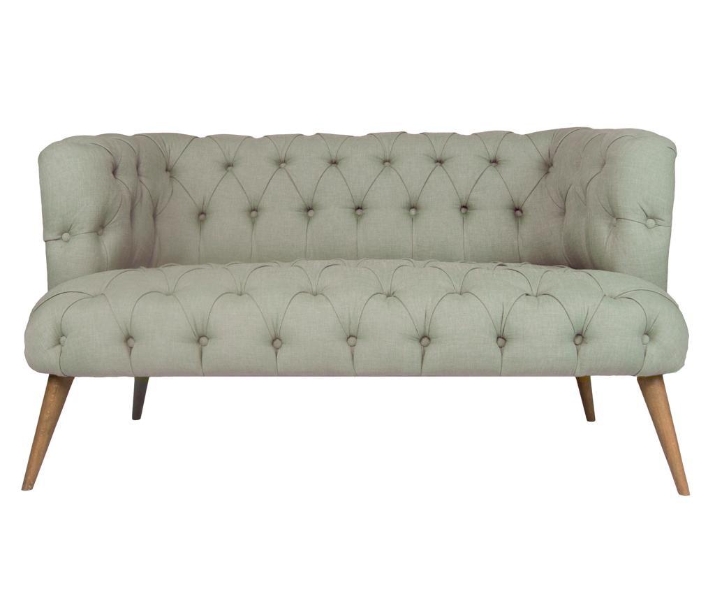 Beatrice Grey Kétszemélyes kanapé