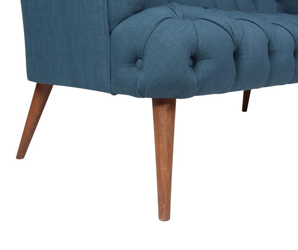 Beatrice Night Blue Kétszemélyes kanapé