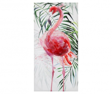Tablou Flamingo 50x100 cm