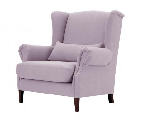 Křeslo Alpaga Lilac