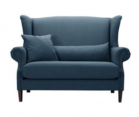 Kauč dvosjed Alpaga Blue