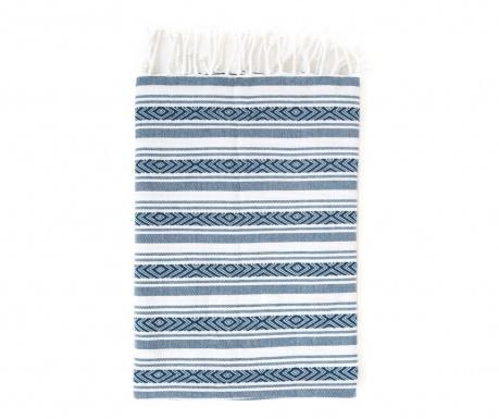 Кърпа за баня Pestemal Velovis Blue 90x170 см