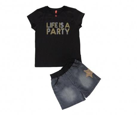 Party Gyerkek póló és nadrág