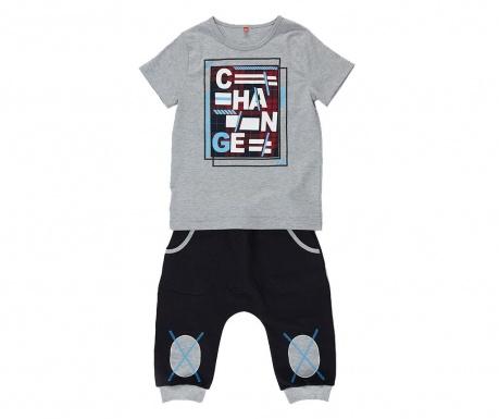 Sada tričko a nohavice pre deti Patchwork