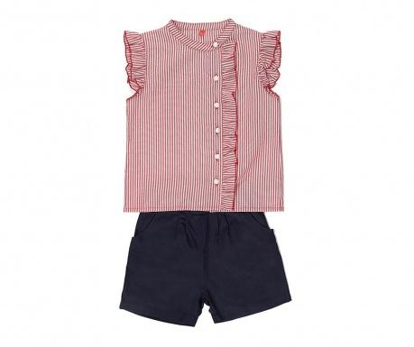 Sada košeľa a nohavice pre deti Striped