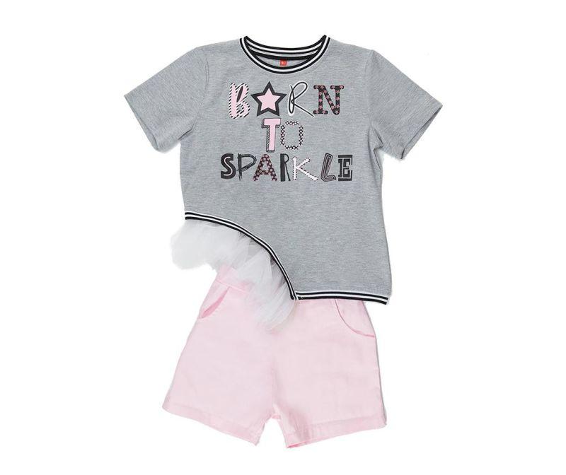 Set tricou si pantaloni pentru copii Sparkle 10 ani