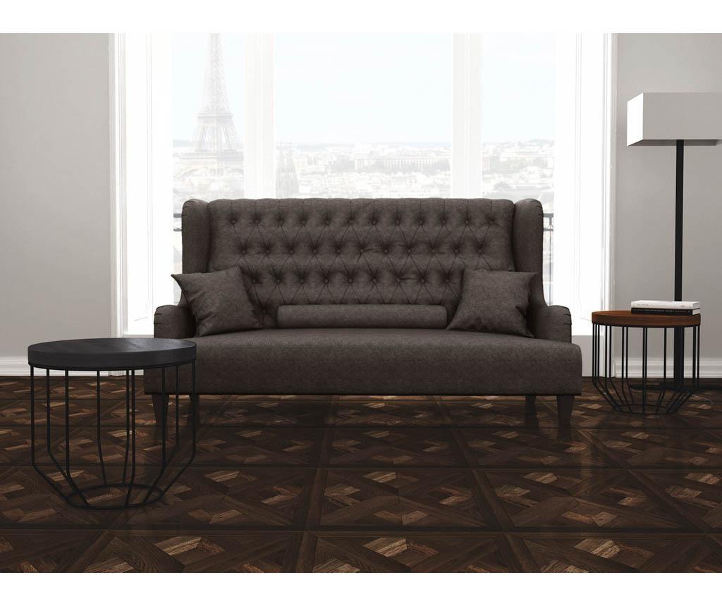 Canapea 3 locuri Flanelle Grey