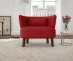 Canapea 2 locuri Organza Red
