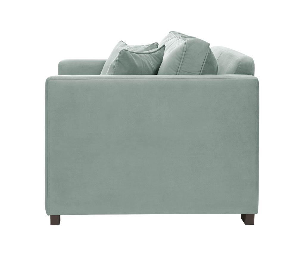 Canapea 3 locuri Taffetas Blue