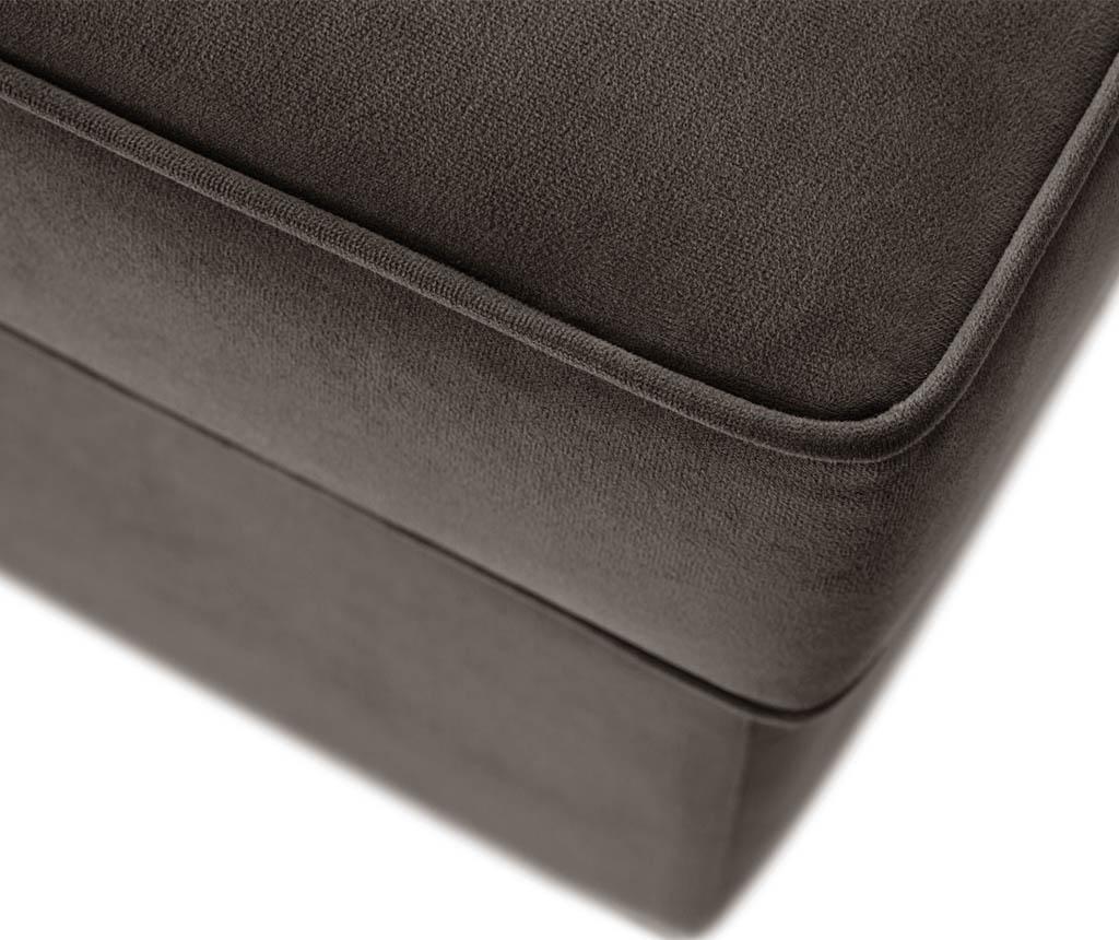 Coltar stanga Taffetas Angle Narrow Grey